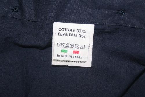 camisa italiana exclusiva (made in italy - importada)