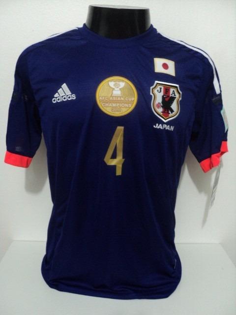 Camisa Japão Home 14-15 Honda 4 Final Copa Da Ásia Importada - R ... 9214a50ec8169