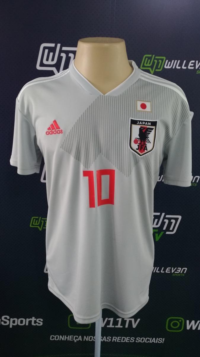 camisa japão reserva copa 2018  10 kagawa. Carregando zoom. d8eae282b6d39