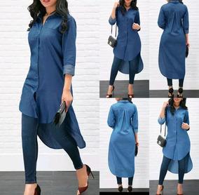 8185734ee Vestidos Y Camisas Largas Para Ropa Accesorios Mujer - Ropa ...