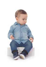 230d0043c2260d Camisa Jeans Bebê Up Baby