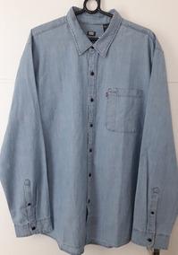 6ce0c9e0b0 Camisas Masculinas Jeans Levis - Camisa Masculino no Mercado Livre Brasil