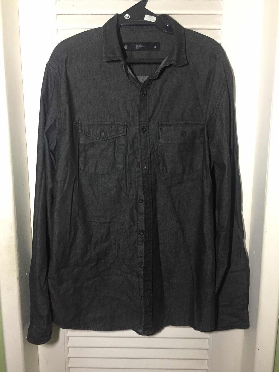 Camisa Jeans Pool Tam m ( Frete Grátis) - R  50 5f7d134c634b7