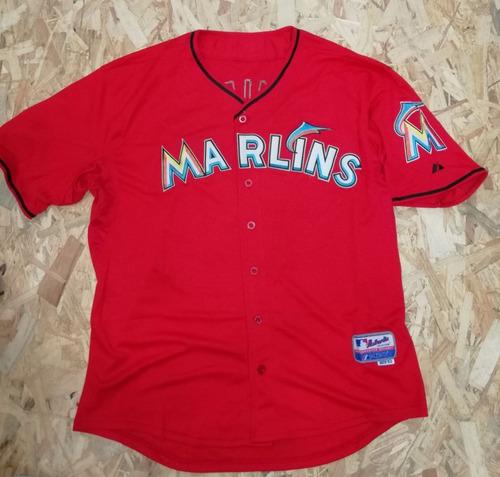 camisa jersey beisbol mlb 2xl 52us miami marlins