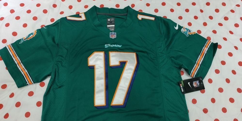 f831bcf7e0 camisa jersey nfl miami dolphins tannehill  17. Carregando zoom.