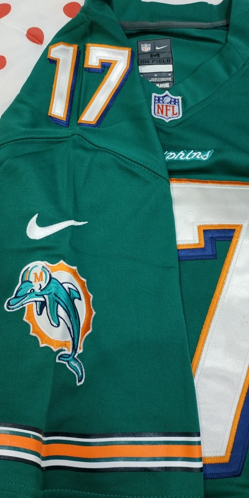 camisa jersey nfl miami dolphins tannehill  17. Carregando zoom. caaf151781a68