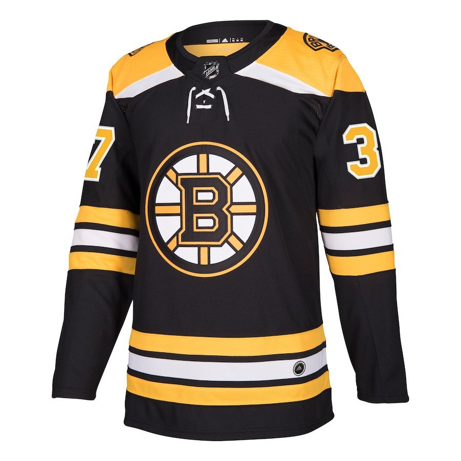 camisa jersey nhl boston bruins 3 hockey  37 bergeron. Carregando zoom. 23c56992fade1