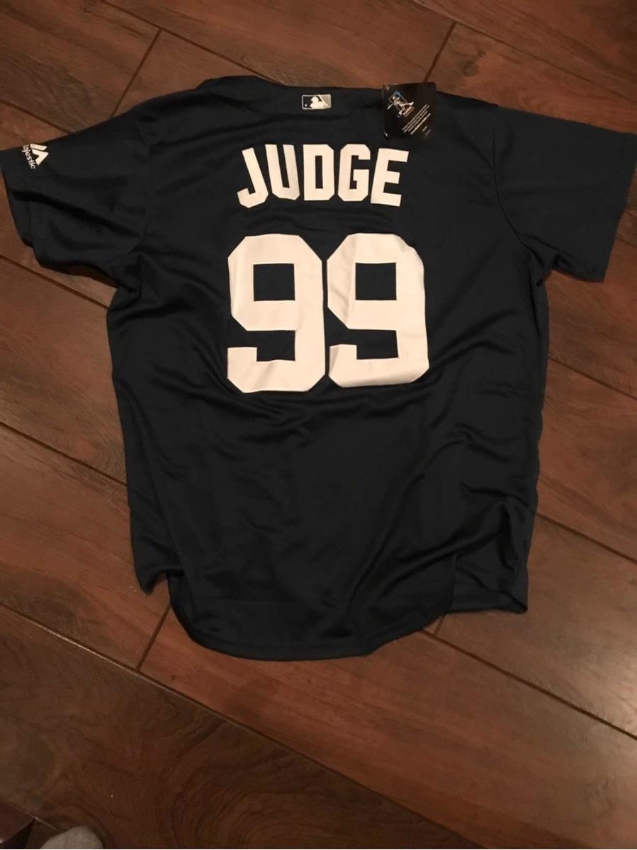 sale retailer 97618 51abf Camisa Jersey Ny Yankees. Visita Judge. Nueva. Baseball