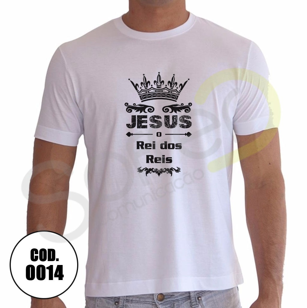 6625096b3 camisa jesus cristo rei dos reis religiosa gospel. Carregando zoom.