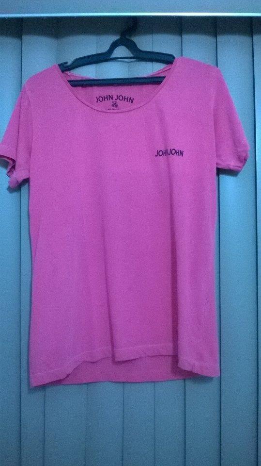 f00e7b5724 camisa john john rosa básica. Carregando zoom.
