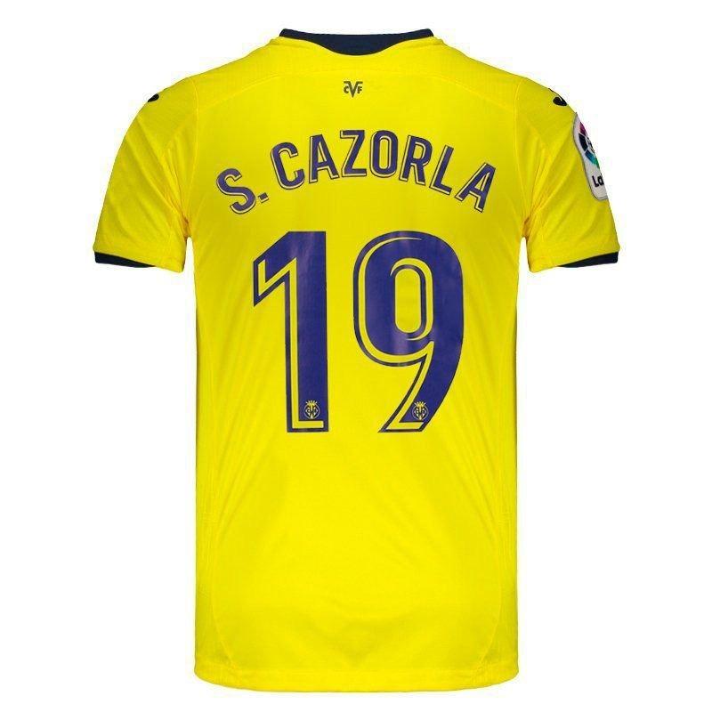 camisa joma villarreal home 2019 19 s. cazorla. Carregando zoom. 375bd7a129ad8