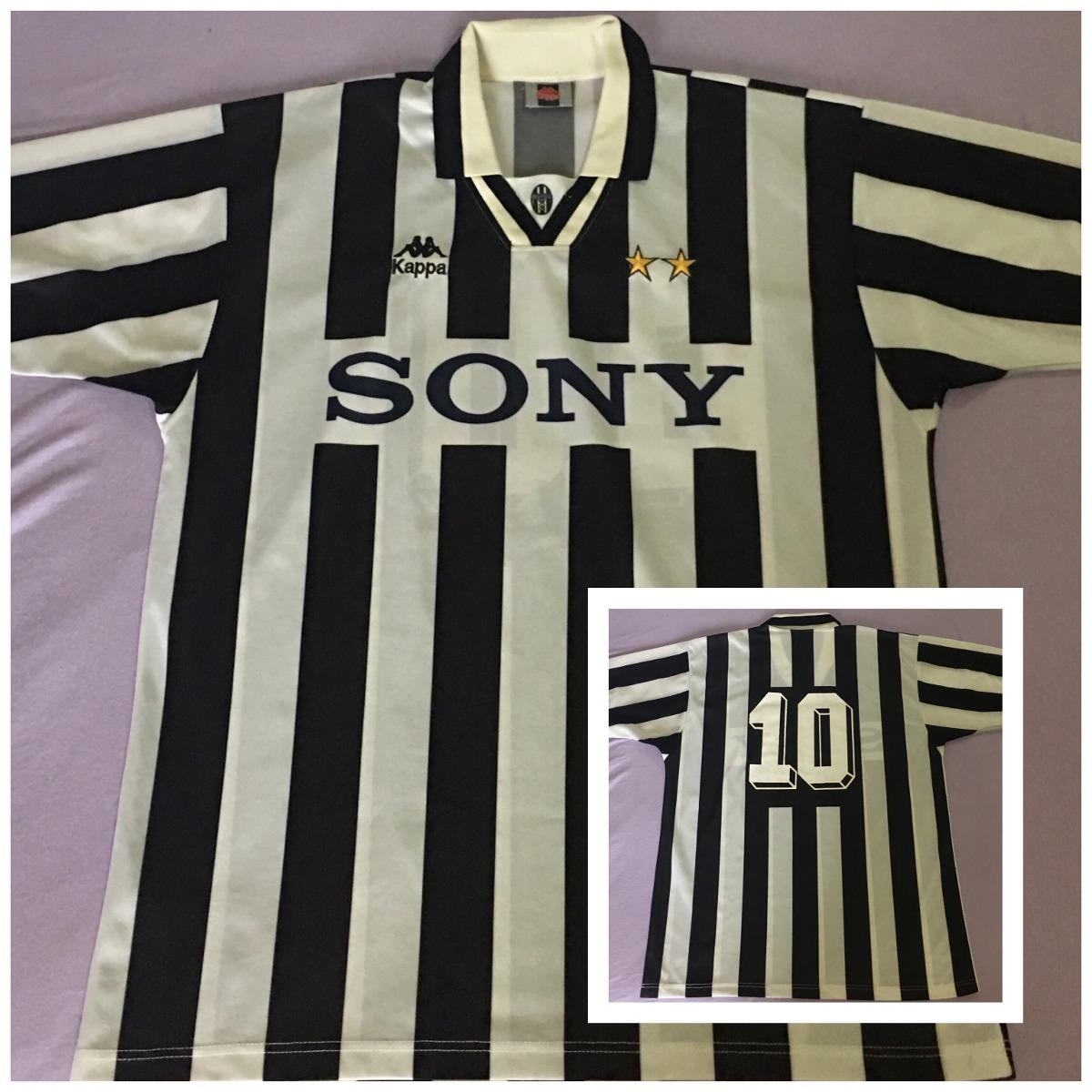 Camisa Juventus 1995-1996   Número Em Veludo   Ótimo Estado - R  275 ... 2fbdd3465ad6b