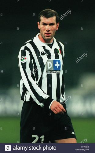 camisa juventus 1999-00 zidane 21 serie a