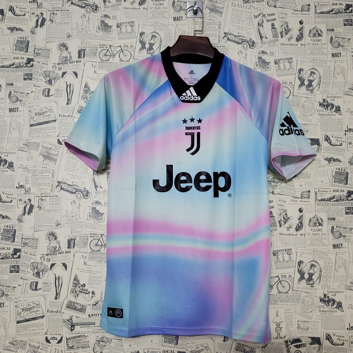 d561dbdd37890 Camisa Juventus 2018 Oficial adidas Edicao Ea Sports Fifa 19 - R ...