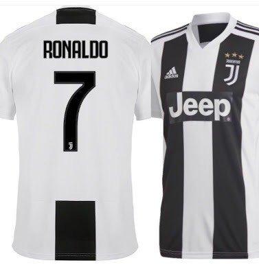 1d039cca54 Camisa Juventus 2018/2019 - Cristiano Ronaldo 7 - R$ 139,00 em ...