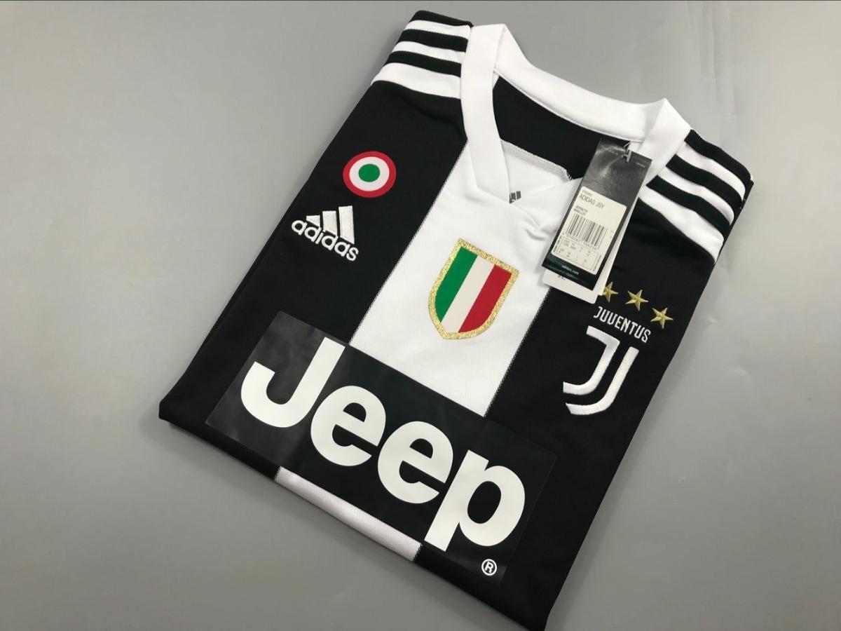 fba824e9c8 camisa juventus 2018/2019 - cristiano ronaldo - todos patchs. Carregando  zoom.