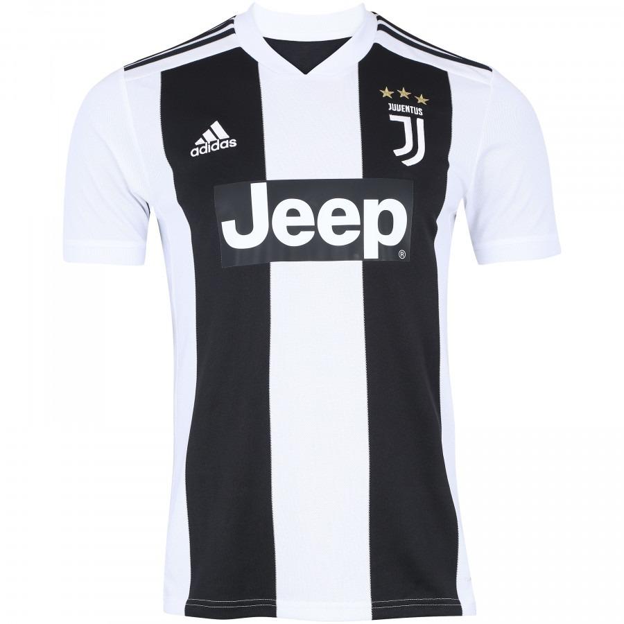 99de14e8e camisa juventus adidas home 2018 n°7 - ronaldo - torcedor. Carregando zoom.