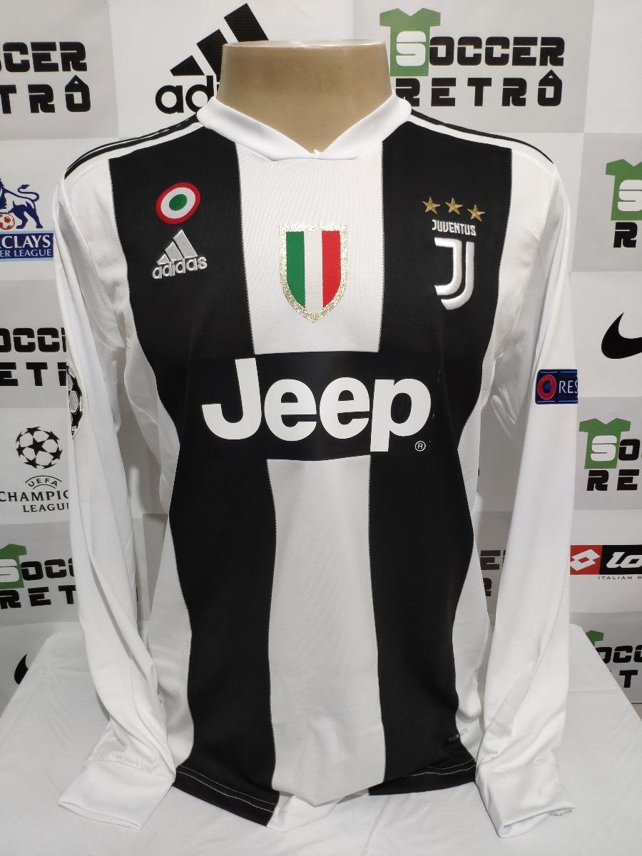 e8b89dd08 camisa juventus champions league 2018-19 cristiano ronaldo 7. Carregando  zoom.