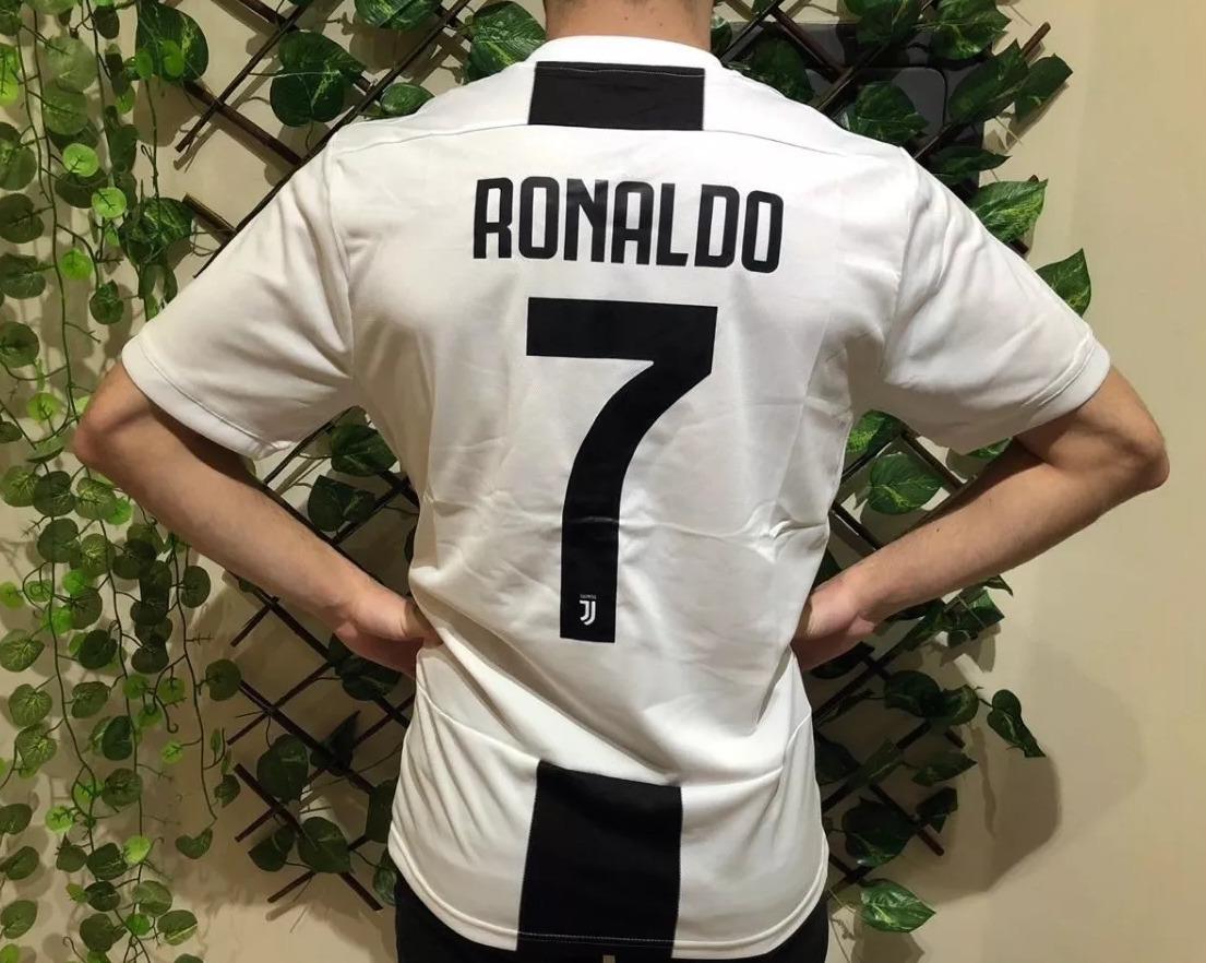 b9d4b84e00 camisa juventus cr7 adidas oficial 2018 / 2019 - nº7 ronaldo. Carregando  zoom.