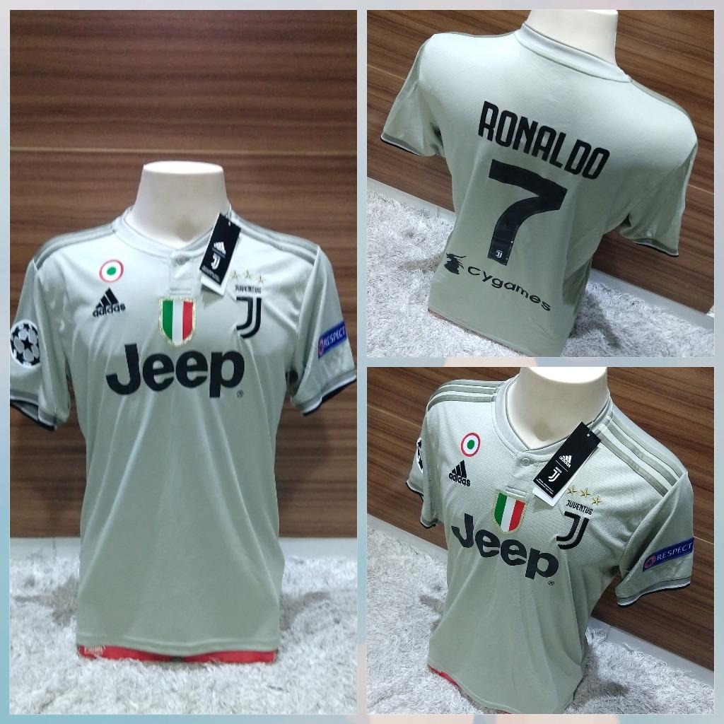 35b07ac264df0 camisa juventus cristiano ronaldo  7 cr7+ patch da champions. Carregando  zoom.