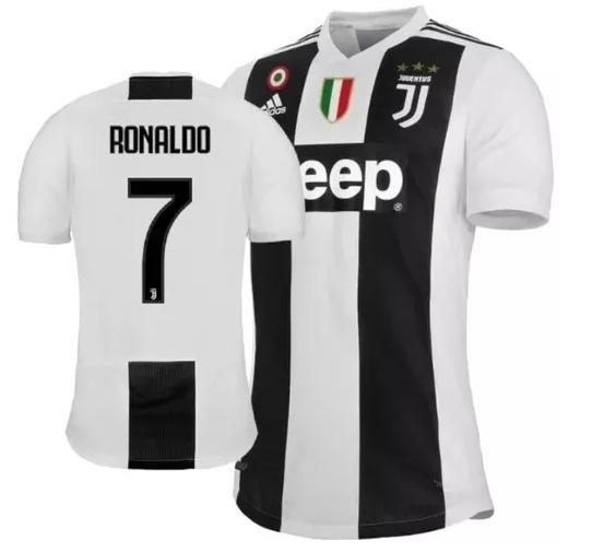 17f335c63 Camisa Juventus Cristiano Ronaldo Com Patch 2019 adidas - R  189