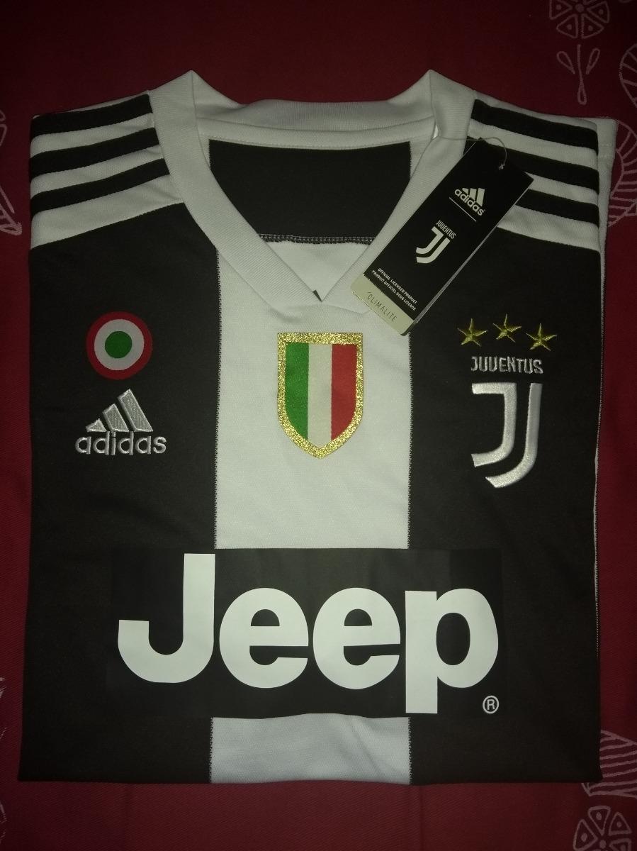 646b47ce01 Camisa Juventus Home 2018 2019 Sem N° - Torcedor adidas - R  140