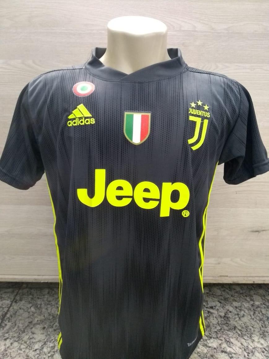 camisa juventus - italia - 2018 - cristiano ronaldo - cr7. Carregando zoom. 9e11535f89b9e