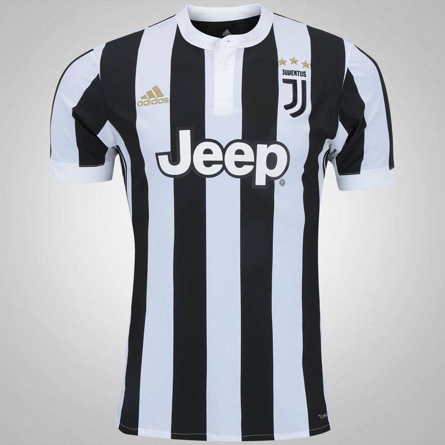 Camisa Da Juventus Itália Juve Nova Branca Preta Listrada - R  95 4a7da6e833b11