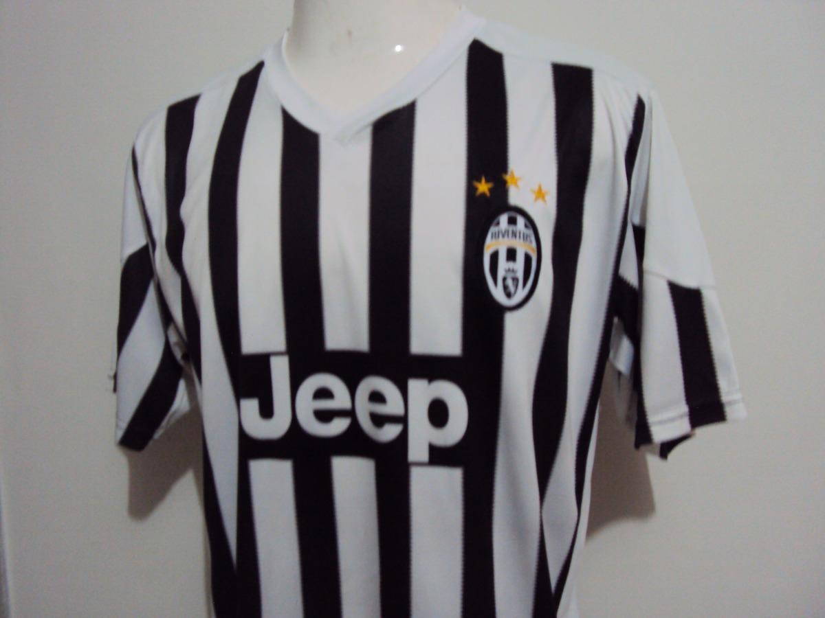 Camisa Juventus Italia Juventus Jeep Tamanho G - R  200 503fa4f885ac1