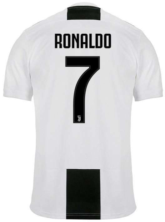 Camisa Juventus - Uniforme 1 - 2018   2019 - Frete Grátis - R  149 ... ccf52e8e88cba