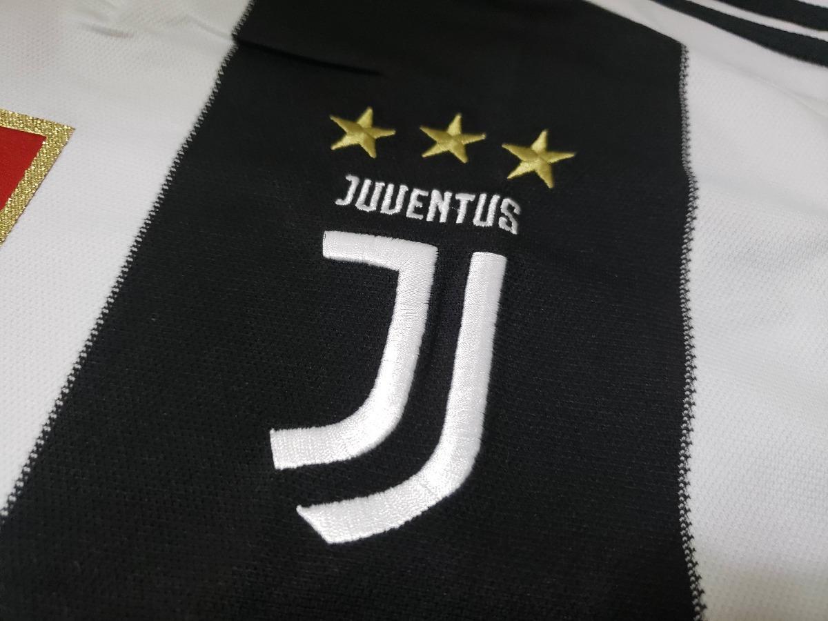 camisa juventus - uniforme 1 cr7-18 19 original frete gratis. Carregando  zoom. 7bf3f60b0a1ba