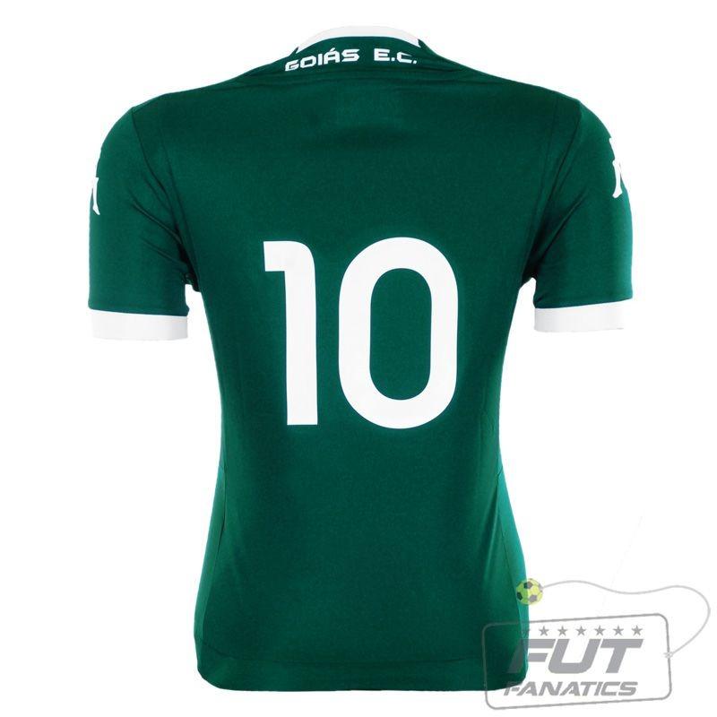 59ec88187d Camisa Kappa Goiás I 2015 Feminina - Futfanatics - R  49