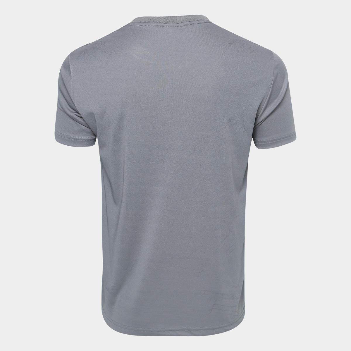 camisa kappa jenner masculina - cor chumbo. Carregando zoom. 371ddb4983d2c