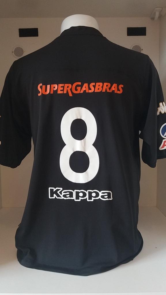 camisa kappa kombat botafogo supergasbras preparada jogo. Carregando zoom. a8cd78a38a62a