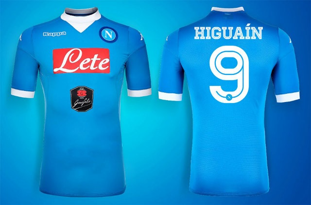 Camisa Kappa Napoli 2015-2016 - Pronta Entrega! - R  150 7d0b048f8bb1e