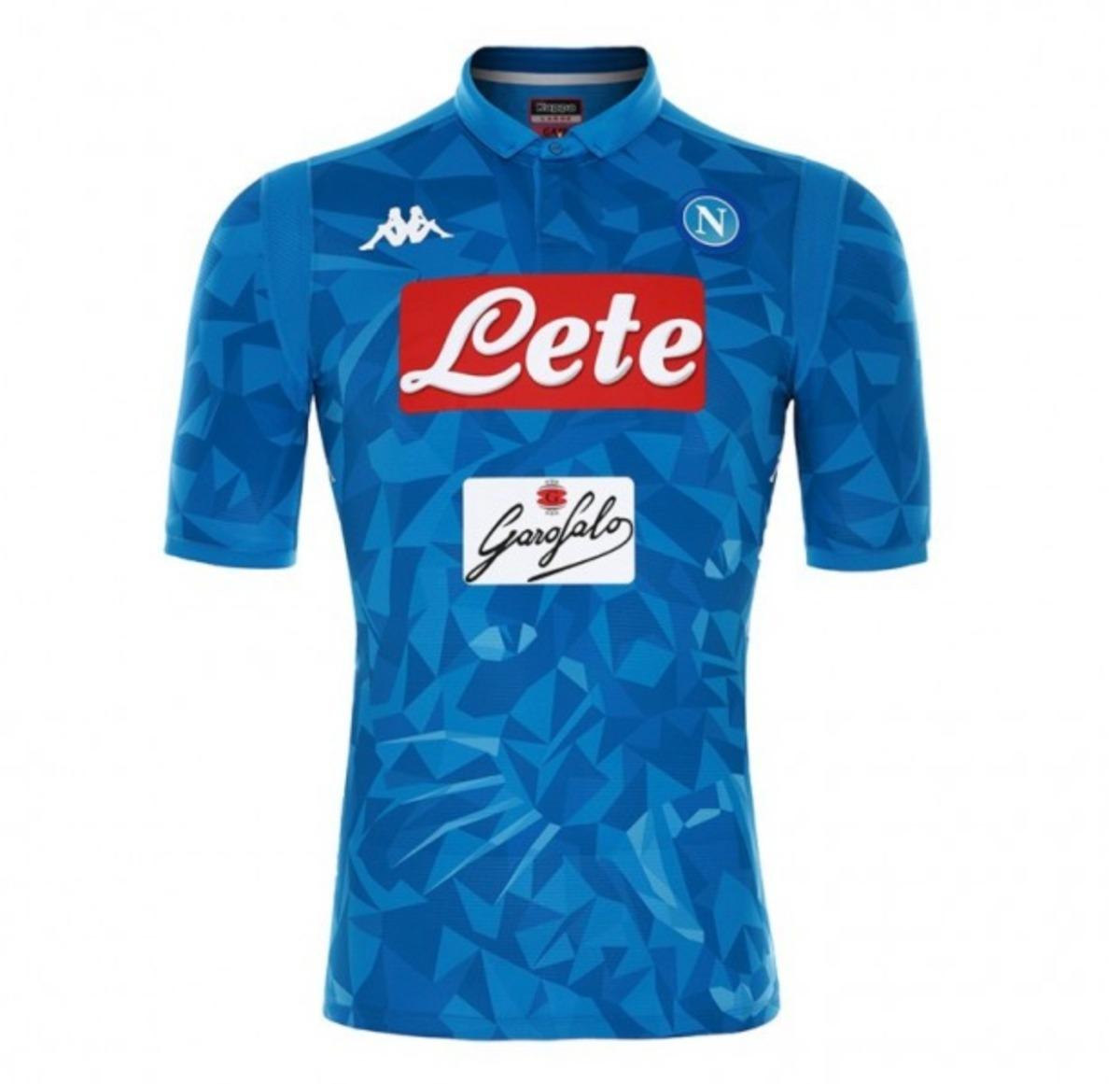 06f1faf709e91 Camisa Kappa Napoli Oficial 2019 Pronta Entrega - R  139