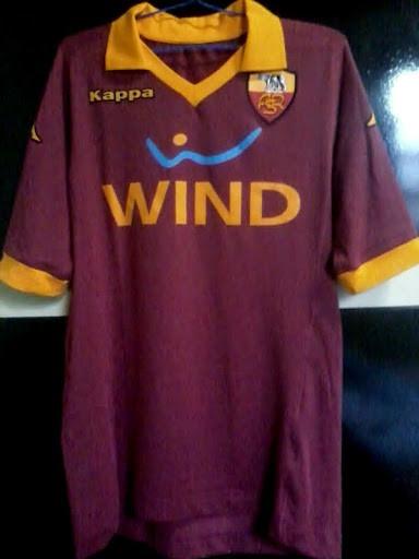 7470ebb86a Camisa Kappa Roma 2012-2013 Sweepet95 - R  279