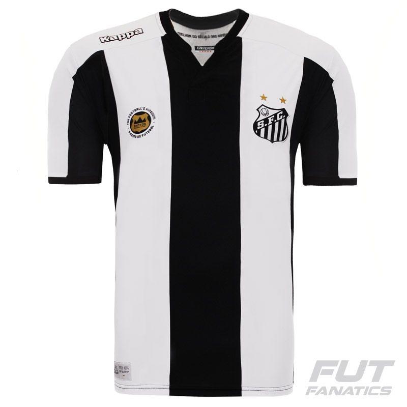 camisa kappa santos ii 2016 juvenil. Carregando zoom. 6efe77a977f0c