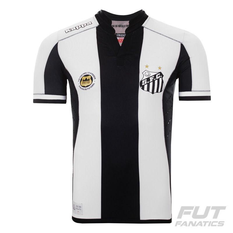 camisa kappa santos ii 2016 kombat jogador - futfanatics. Carregando zoom. 3a6a2505e84b8