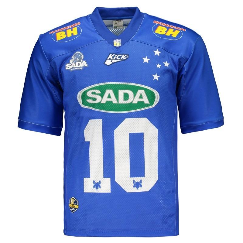 4708e40083 Camisa Kickball Sada Cruzeiro I 2017 - R$ 147,90 em Mercado Livre