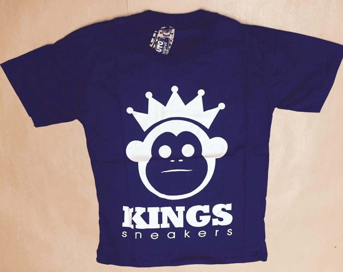 camisa kings c  logo macaco. super promoção. Carregando zoom. 2ea80f39dd7