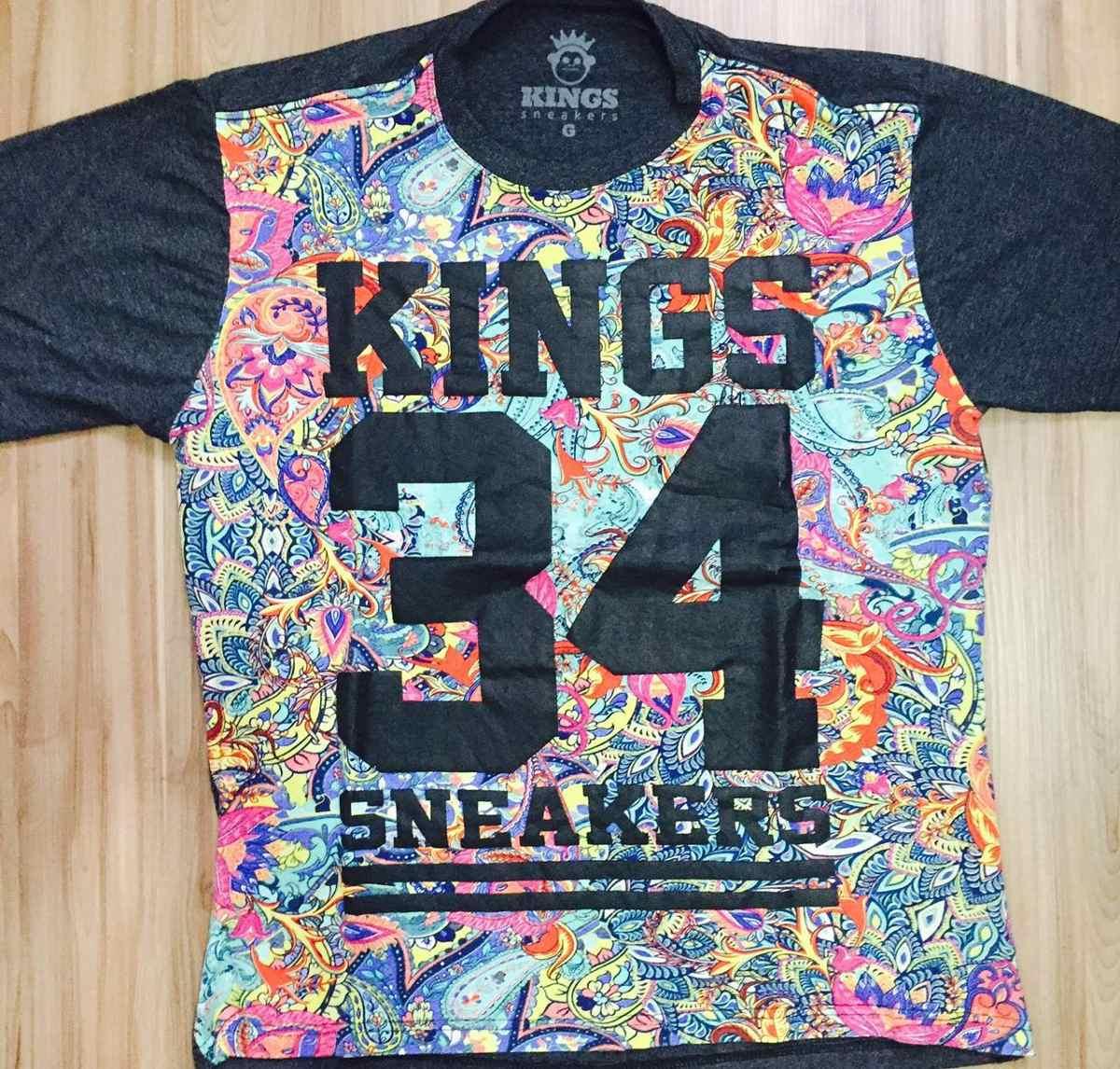 camisa kings sneakers 34 florida varias cores 100% original. Carregando  zoom. 31e08bb1cf223
