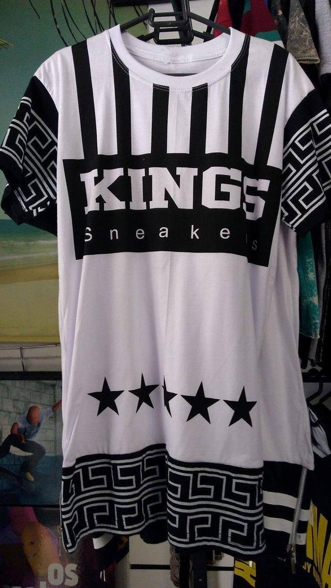 camisa kings sneakers hip hop swag last kings camiseta skate. Carregando  zoom. d7dbb4a5c9bd6
