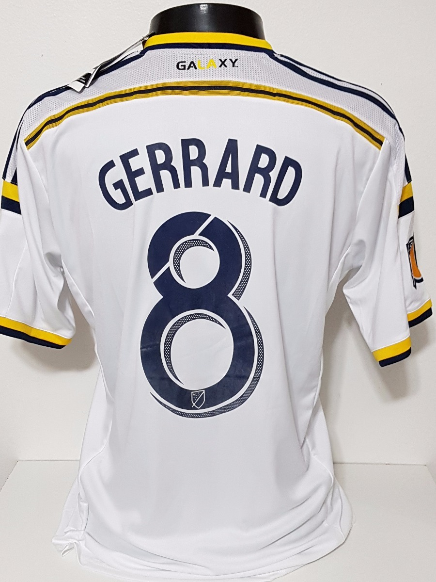 4bb00741a125d camisa la galaxy home 15-16 gerrard 8 patch mls importada. Carregando zoom.