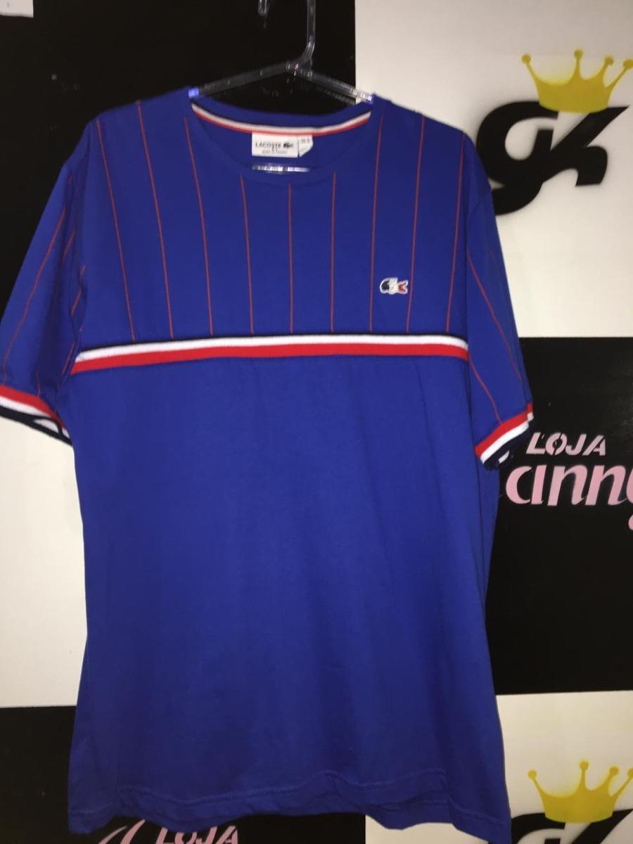 80e348be193 Camisa Lacoste Azul