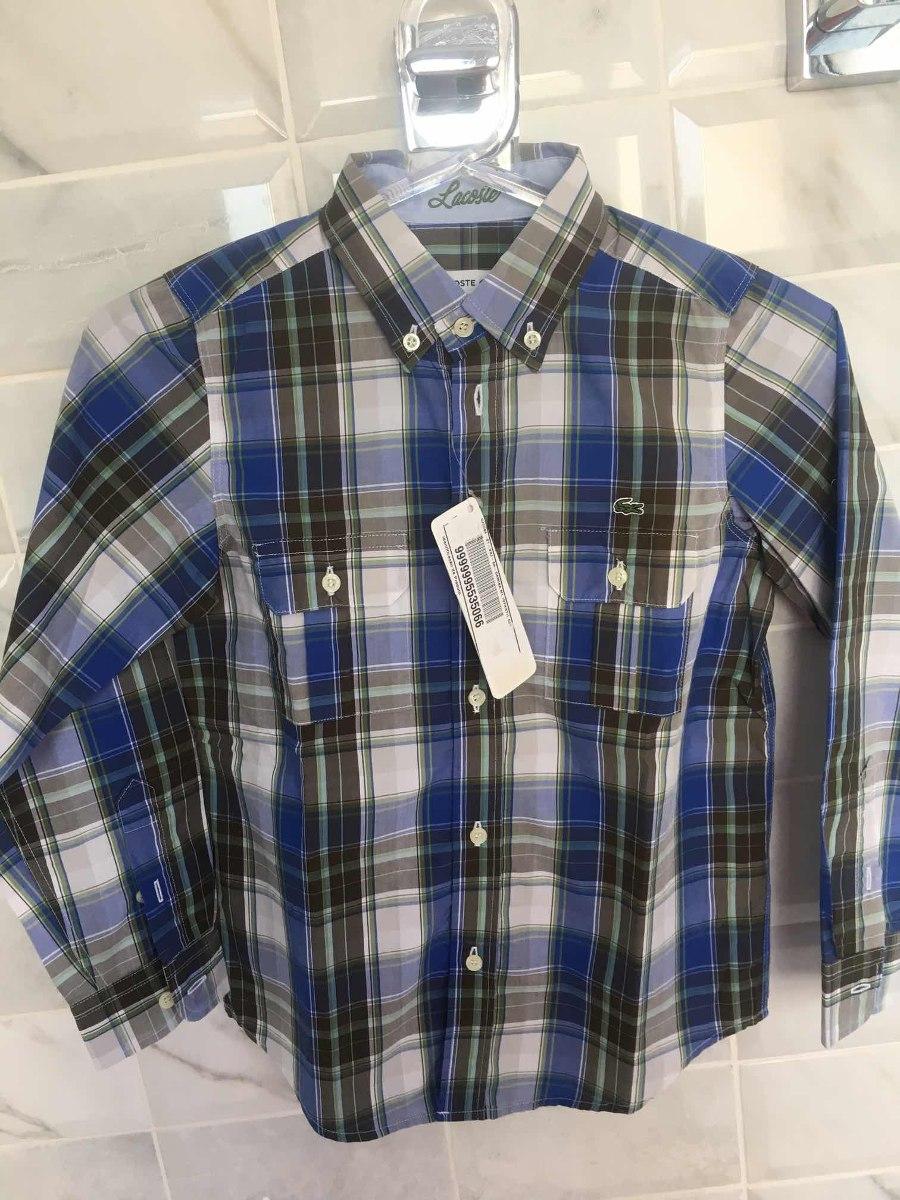 Camisa Lacoste Infantil Original E Nova - R  180,00 em Mercado Livre 79cddd4008