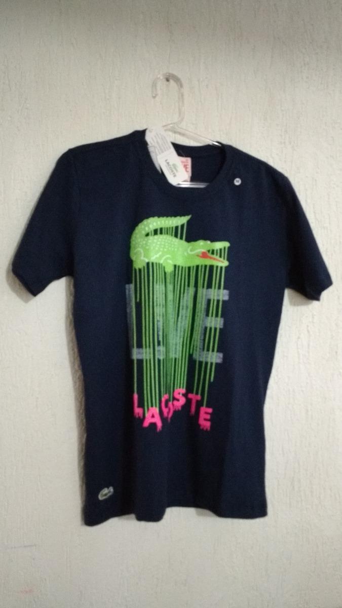 Camisa Lacoste Live - R  74,90 em Mercado Livre 45e23e58c3