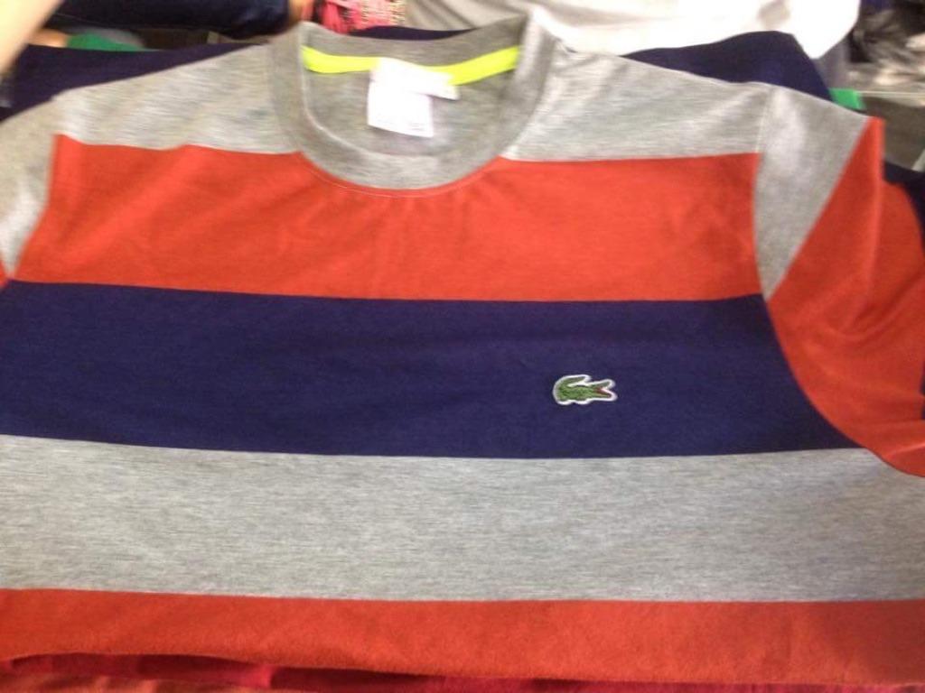 bc8cf0492e665 Camisa Lacoste Live C bolso Original - R  139