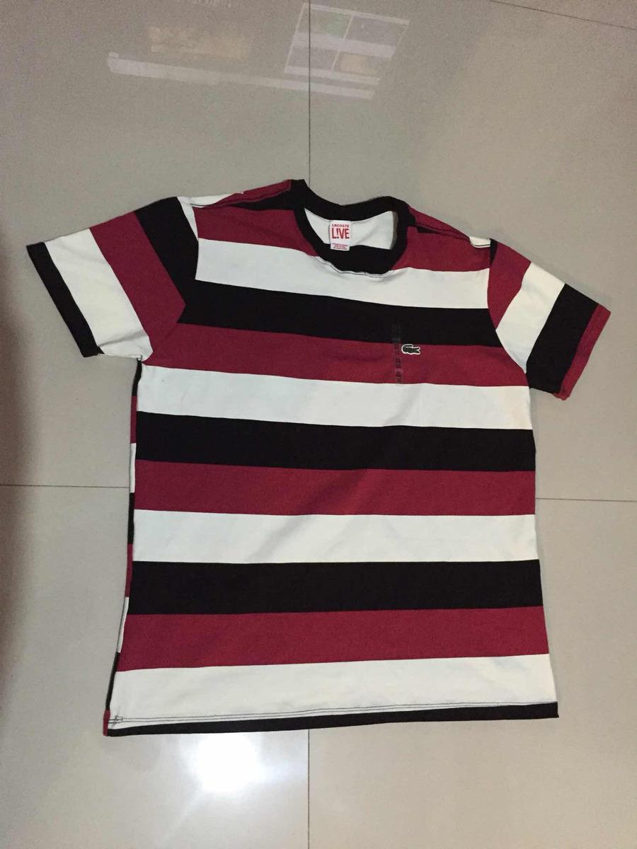 720a4ce5cdf camisa lacoste nova. Carregando zoom.