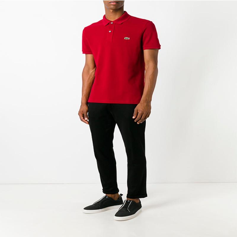... camisa lacoste original tecido piquet pima botão madrepérola. Carregando  zoom. cc618cdacacbf1  Camisa Polo ... 4b1aed905c78e